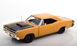Dodge Coronet Super Bee 1969 ocker / matt-schwarz