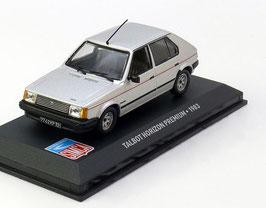 Talbot Horizon Premium Phase III 1983-1986 silber met.