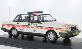 """Volvo 240 GL Limousine 1984-1993 Politie Niederlande weiss / orange"""""""