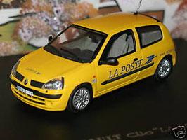 "Renault Clio II Phase II 2001-2003 ""La Poste"" gelb"