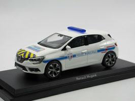 "Renault Megane IV Phase I 2016-2020 ""Police Municipale France weiss / Decor"