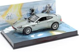 """Aston Martin V12 Vanquish 2001-2007 grau met.""""James Bond 007 Edition Die another Day"""""""