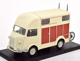 Citroën Type H Van Heuliez Pferdetransporter 1958 creme / braun