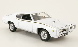 Pontiac GTO 1969 weiss