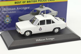 "Hillman Avenger Phase I 1970-1976 ""West Yorkshire Police"" RHD weiss"