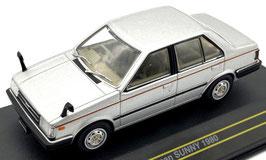 Nissan Sunny B11 Sedan 1981-1985 RHD silber met.