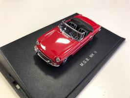 MG B Roadster MK II 1967-1972 rot