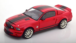 Ford Mustang Shelby GT500 Super Snake 2008 rot / schwarz