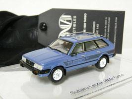 Subaru Leone 1800 Turbo Station Wagon 4WD 1982-1984 hellblau met.