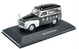 Volvo PV445 Duett 1953-1969 Polis Schweden schwarz / weiss