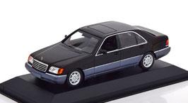 Mercedes-Benz 600 SEL W140 Phase I 1991-1994 schwarz met. / grau met.