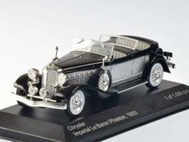 Chrysler Imperial Le Baron Phaeton 1933 silber / schwarz