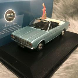 Ford Cortina MK II Crayford Convertible 1967 türkis met. / weiss