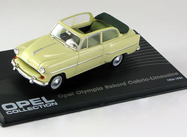 Opel Olympia Rekord Cabrio-Limousine 1954-1955 beige
