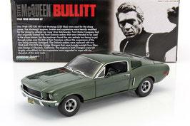 """Ford Mustang GT 1968 """"Bullitt - Steve Mc Queen"""" dunkelgrün"""