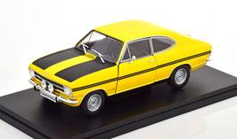 Opel Kadett B Coupé Rallye 1967-1973 gelb / matt-schwarz