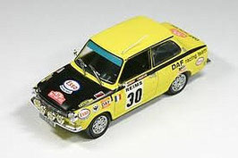 DAF 55 1967-1972 #30 Jaune Rally Monte Carlo 1972 C. Laurent / J. Marché