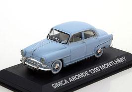 Simca Aronde 1300 Montlhery 1956 hellblau