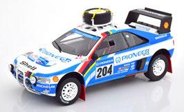 Peugeot 405 T16 Gand Raid #204 Rallye Paris Dakar 1989 Vatanen / Berglund