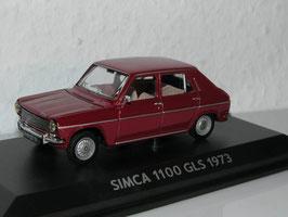 Simca 1100 GLS 1973 dunkelrot