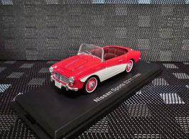 Datsun Sports 1000 S211 1959-1960 RHD rot / weiss