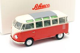VW T1b Samba Bus 1960-1963 rot / beige