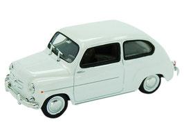 Fiat 600 1955-1969 weiss
