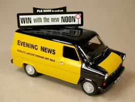 "Ford Transit MK I Phase I 1965-1970 ""Evening News"" gelb / schwarz"