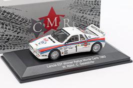 Lancia 037 #1 Winner Rallye Monte Carlo 1983 W. Röhrl / C. Geistdörfer weiss / Decor