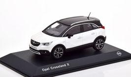 Opel Crossland X Phase I 2017-2020 weiss / schwarz