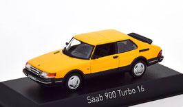 Saab 900 Turbo 16 1986-1994 gelb / schwarz
