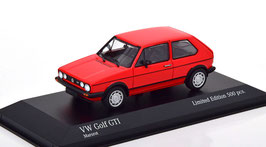 VW Golf I GTI Phase III 1980-1983 rot / schwarz