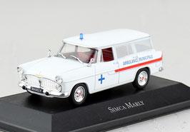 Simca Marly Ambulance 1957-1961 weiss / rot