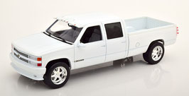 Chevrolet Silverado 3500 Crew Cab Custom 1997 weiss