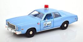"""Plymouth Fury 1975-1978 """"Film Beverly Hill Cop 1984 / Police Detroit hellblau met."""""""
