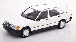 Mercedes-Benz 190 E W201 Phase I 1982-1988 weiss