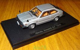 Honda Accord I EX Coupé 1976-1981 RHD silber met.