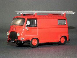 """Renault Estafette Lieferwagen 1959-1980 """"CTU Pompiers Feuerwehr"""" rot"""