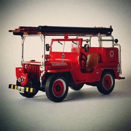 Jeep CJ2A Bomberos 1946 rot