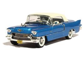 Cadillac Eldorado Biarritz Convertible 1957-1958 hellblau met. / Verdeck weiss