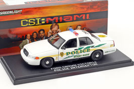 "Ford Crown Victoria II 1997-2011 Miami Dade Police ""TV-Serie CSI Miami"""