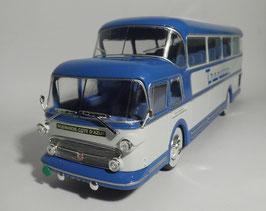 Isobloc 656 DH Reisecar 1956 blau / hellgrau