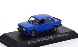 Simca 1000 Rallye 3 Prototype 1978 blau