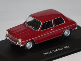 Simca 1100 GLS Phase I 1967-1975 dunkelrot