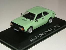 "Seat 1200 Sport Coupé ""Bocanegra"" 1975-1980 hellgrün"