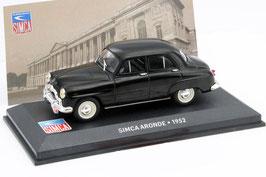Simca 9 Aronde Phase I 1951-1953 dunkelblau