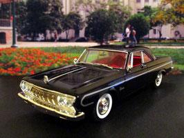 Plymouth Belvedere Hardtop Coupé 1964 schwarz