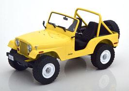 """Jeep CJ-5 """"1980 gelb TV-Serie Drei Engel für Charlie 1976-1981"""""""