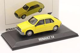 Renault 14 Phase I 1976-1979 gelb / grau