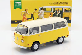 "VW T2b Bus 1972-1979 ""Film Little Miss Sunshine gelb / weiss"""